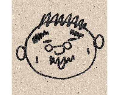 萩原英伸の似顔絵