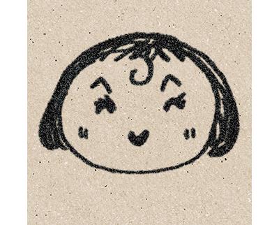 萩原久恵の似顔絵