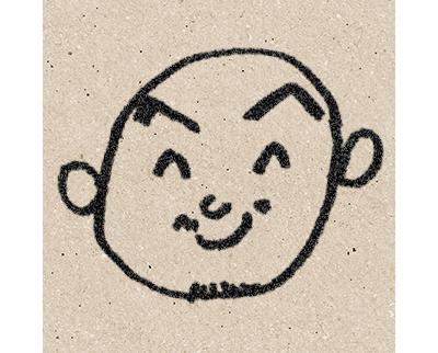 山本直人の似顔絵